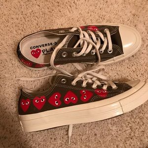 Play comme des garcons convers shoes